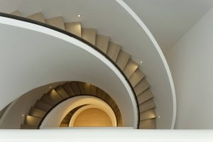 sculpture stair - Chelsea House - Seldorf Architects